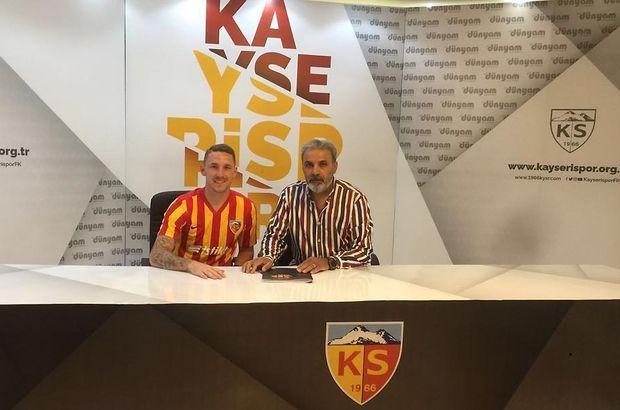 Göztepe'den ayrılan Rajko Rotman, yeniden Kayserispor'da