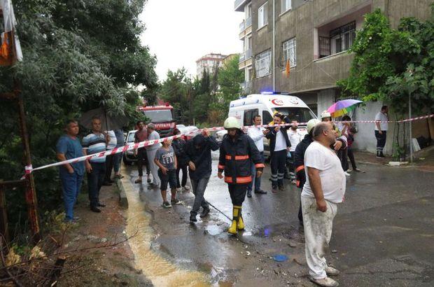 Son dakika: Sancaktepe'de bir okulun duvarı çöktü