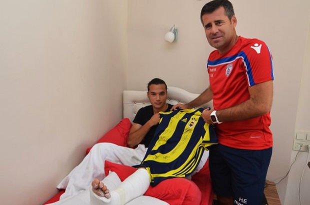 Fenerbahçe'den Altınordulu Ali Mert Aydın'a 'geçmiş olsun' jesti
