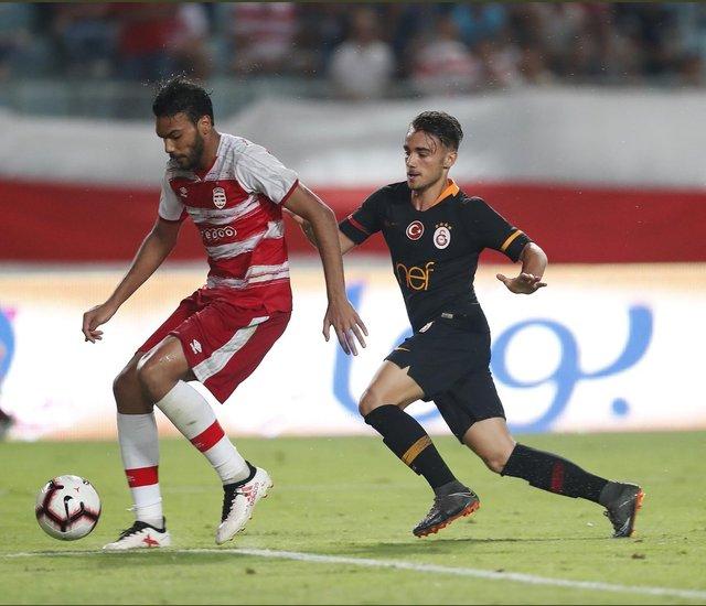 Galatasaraylı Yunus Akgün, Club Africain maçındaki performansıyla gündeme oturdu 49