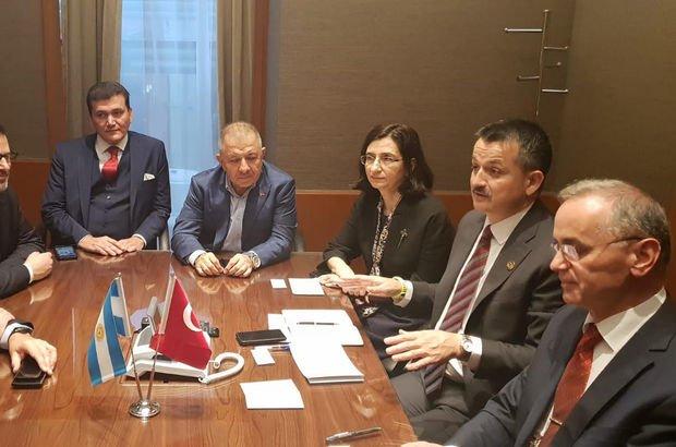 Pakdemirli G20 Tarım Bakanları Zirvesi'nde konuştu