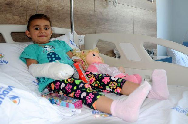 Sağlık Bakanlığının seferber olduğu küçük Zeynep taburcu oldu