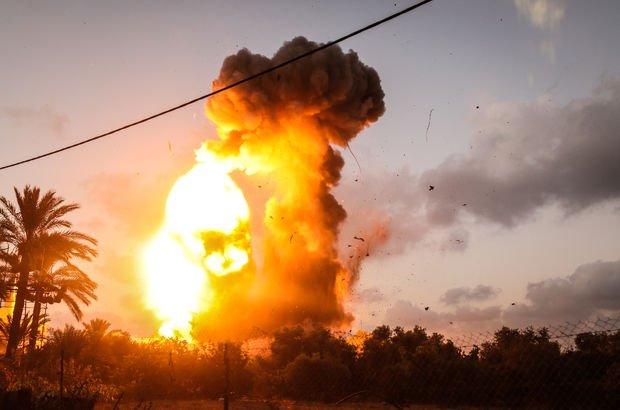 Son dakika: İsrail Gazze'yi vurdu: 2 Filistinli şehit