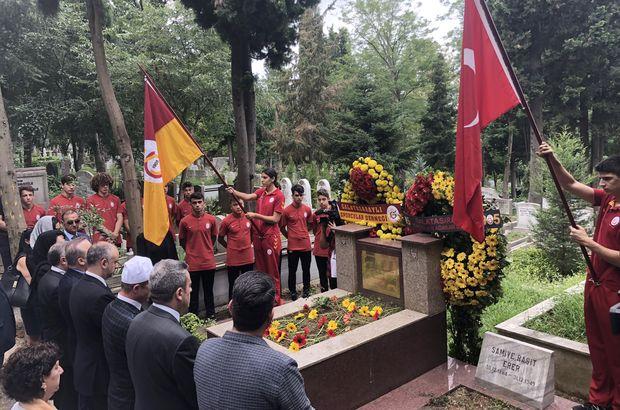 Ali Sami Yen, kabri başında anıldı