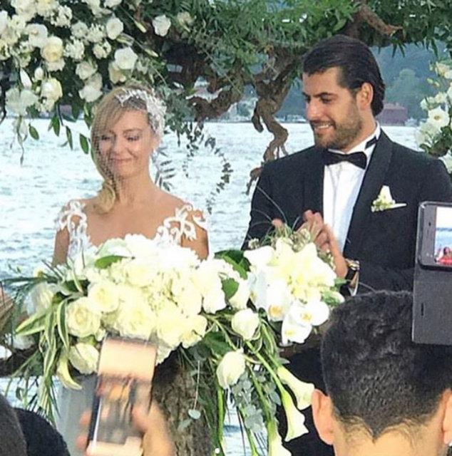 Özge Özder ile Sinan Güleryüz evlendi - Magazin haberleri