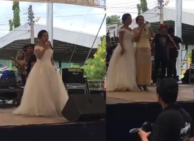 Gelinin talihsiz anları! Damat düğünden kaçınca...