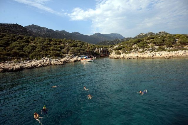 Fanus içinde bir cennet: Kekova