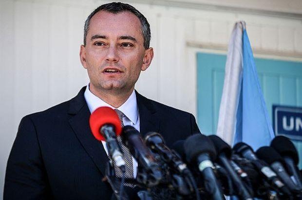 Birleşmiş Milletler Koordinatörü Mladenov Mısır'da