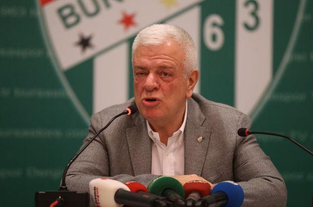 Bursaspor Başkanı Ali Ay: Harun için teklif gelmedi