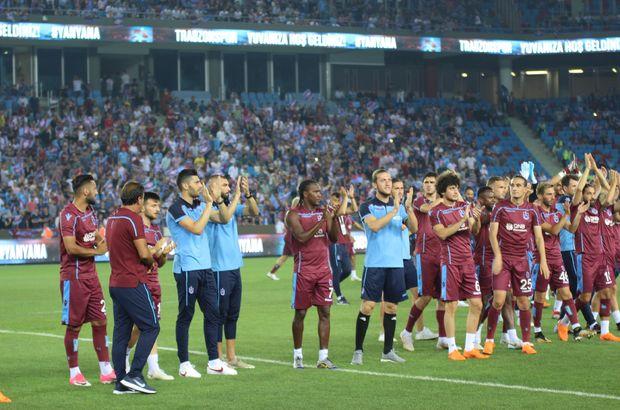 Trabzonspor'dan Samsunspor'a teşekkür
