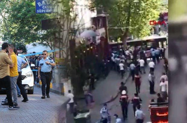 İstanbul'da silahlı ve bıçaklı kavga
