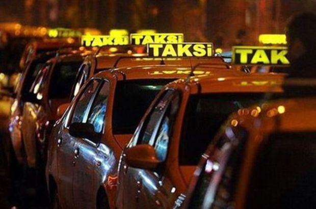 Taksilere kamera takılması