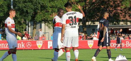 Başakşehir, Stuttgart'a mağlup oldu