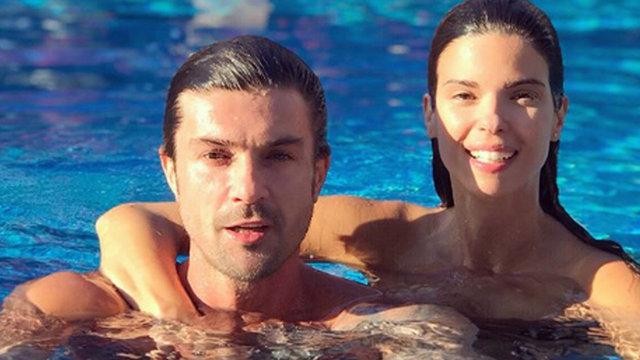 Burak Gacemer-Larissa Gacemer çiftinin havuz keyfi - Magazin haberleri