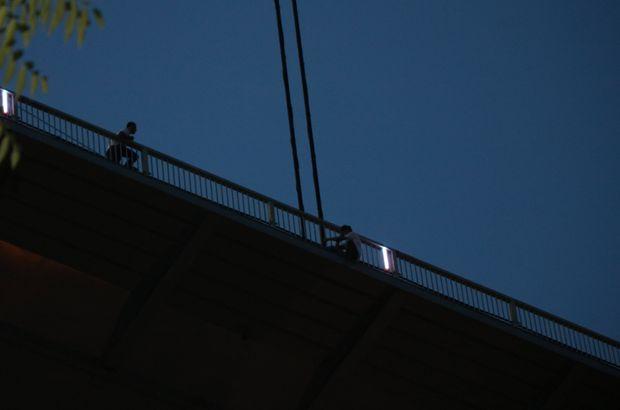 Fatih Sultan Mehmet Köprüsü'nde intihar girişimi
