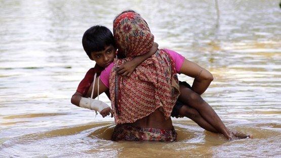Hindistan'da aşırı yağış 569 can aldı