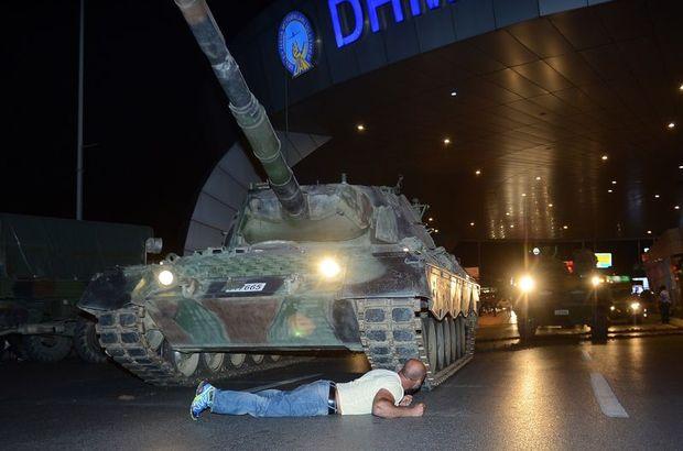 Son dakika: 15 Temmuz'da tankın altına yatan Metin Doğan ifade verdi