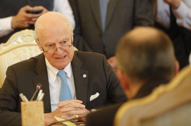 Son dakika... BM: İran, Rusya ve Türkiye Suriye Anayasası için toplanacak!