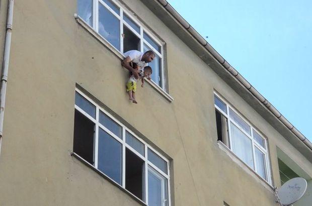 5 katlı apartmanda büyük panik