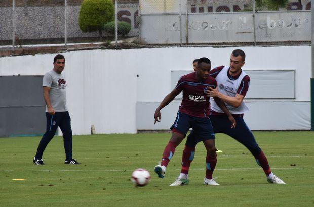 Trabzonspor'da Zagro Toure ilk idmanına çıktı