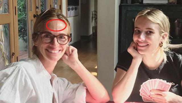 Julia Roberts'ın son görüntüsü şaşırttı