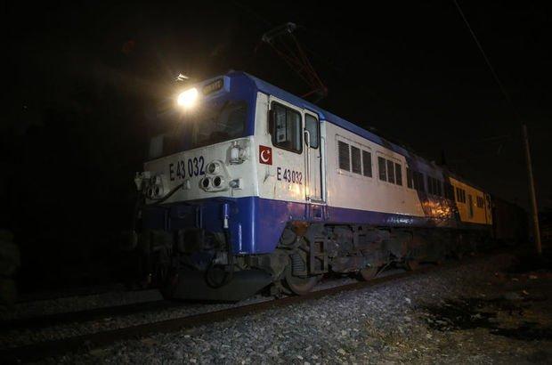 Adana tren çarpması