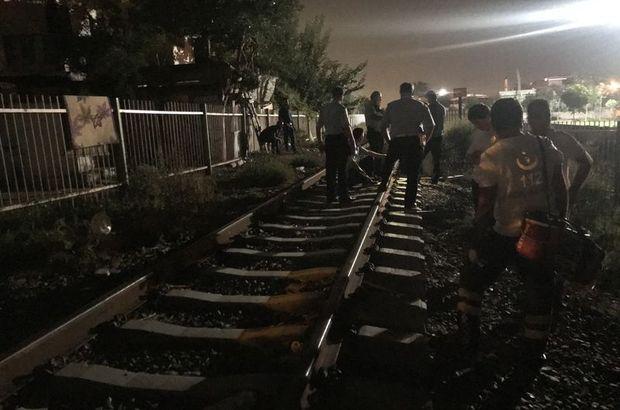 Manisa tren kazası