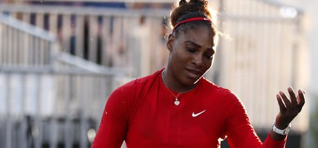 Serena Williams, Silicon Valley Classic tenis turnuvasında ilk turda elendi