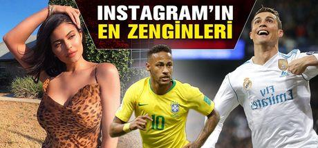 Instagram'da fotoğraf başına servet kazanan ünlüler!