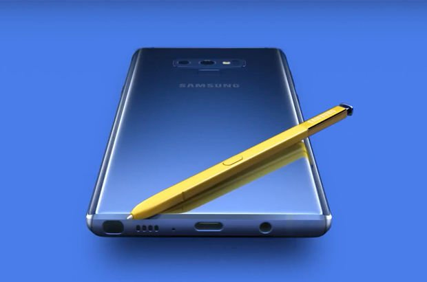 Samsung Galaxy Note  1 tb depolama alanı reklam video
