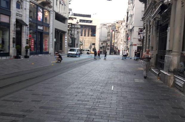 Bu sabah İstiklal Caddesi... Bir anda silah sesleri yükseldi!