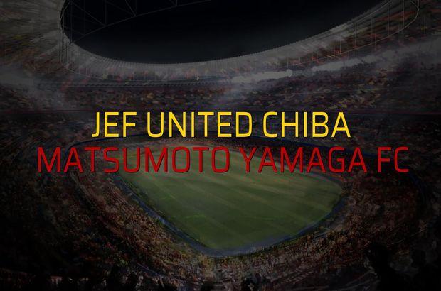 JEF United Chiba - Matsumoto Yamaga FC maçı heyecanı