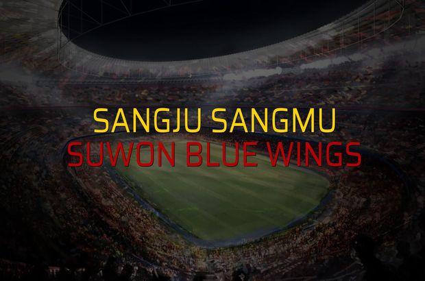 Sangju Sangmu - Suwon Blue Wings düellosu
