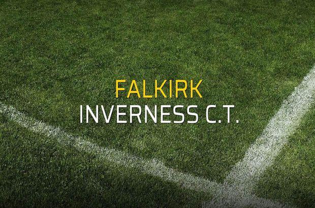 Falkirk - Inverness C.T. maçı istatistikleri