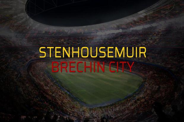 Stenhousemuir - Brechin City düellosu