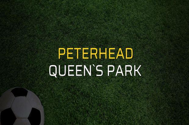 Peterhead - Queen`s Park karşılaşma önü