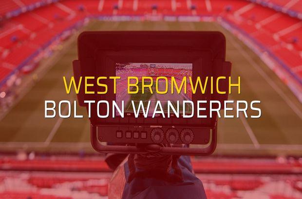West Bromwich - Bolton Wanderers maçı heyecanı