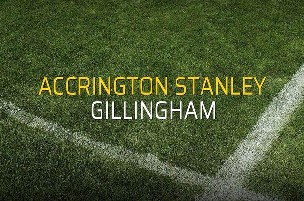 Accrington Stanley - Gillingham maçı ne zaman?