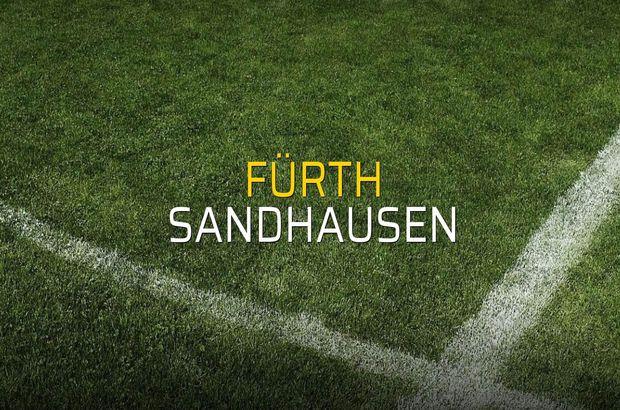 Fürth - Sandhausen düellosu