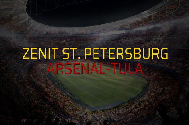 Zenit St. Petersburg - Arsenal-Tula maçı heyecanı