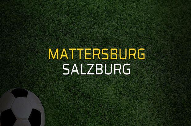 Mattersburg - Salzburg düellosu