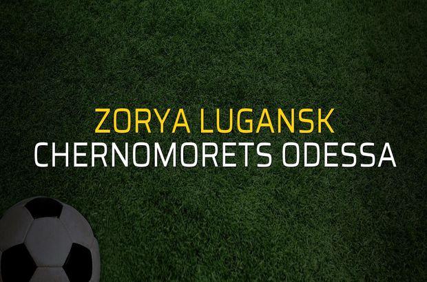 Zorya Lugansk - Chernomorets Odessa maçı heyecanı