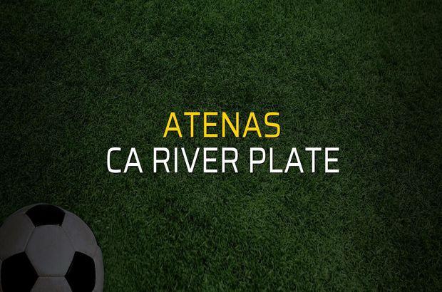 Atenas - CA River Plate karşılaşma önü