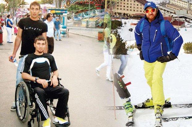 Felci yendi kayak hocası oldu