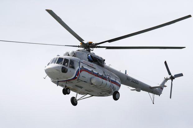 Rusya helikopter kazası