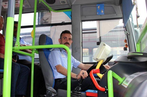 Şoförün ilk yardımı yolcuyu kurtardı