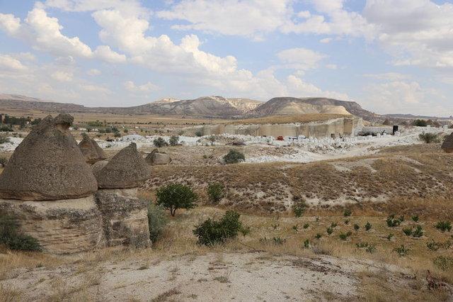Dünyanın ilk doğal yer altı müzesi Kapadokya'ya yapılıyor