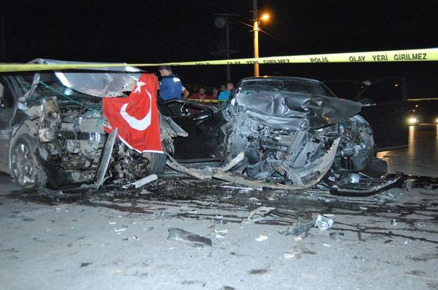 İzmir Ödemiş kaza
