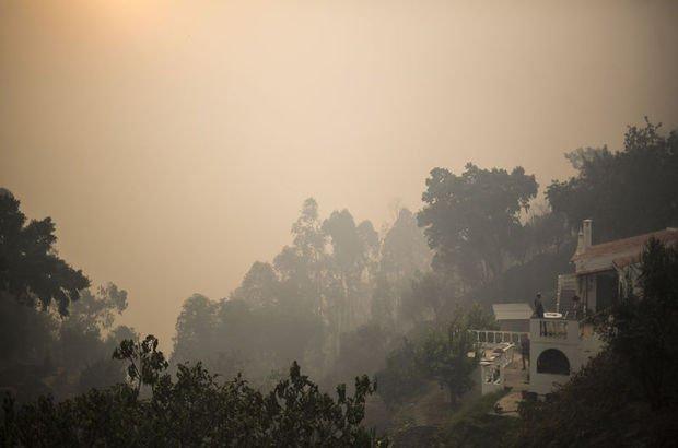 Portekiz'de yangın