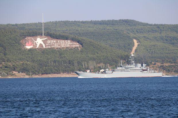 Rus savaş gemisi